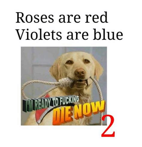 Roses Are Red Violets Are Blue Meme - roses are red violets are blue cking blue meme on sizzle