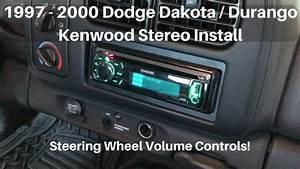 1997  Durango Stereo Install W   Volume
