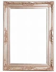 Spiegel 80 X 80 : nice zilveren barok lijst met ornament kunstspiegel ~ Whattoseeinmadrid.com Haus und Dekorationen