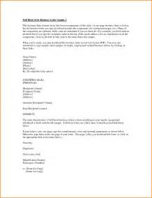 Sample Business Letter Format with Enclosures