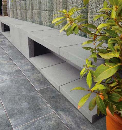 u steine bank u l steine hang und randbefestigung produkte terrassenplatten pflastersteine