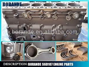 High Quality Excavator S6d107 Engine Parts 6d107 Cylinder Block  View 6d107 Cylinder Block