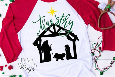 We provide a large selection of free svg files for silhouette, cricut and other cutting machines. True Story - Christmas Nativity Scene - Jesus - SVG Cut ...
