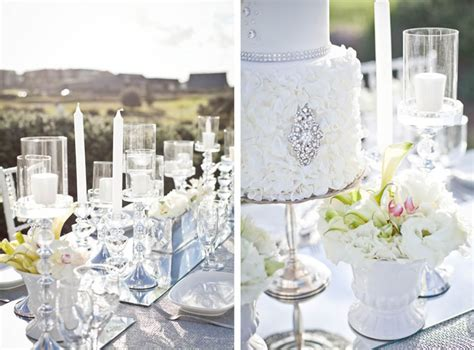 'diamonds Forever' Wedding Styling Ideas
