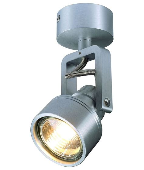 stirrup spotlight for ceiling or wall mounting