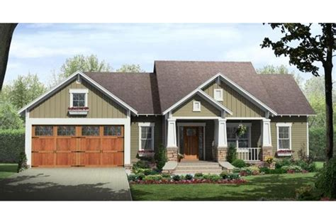 House Plan 348 00204 Craftsman Plan: 1 604 Square Feet