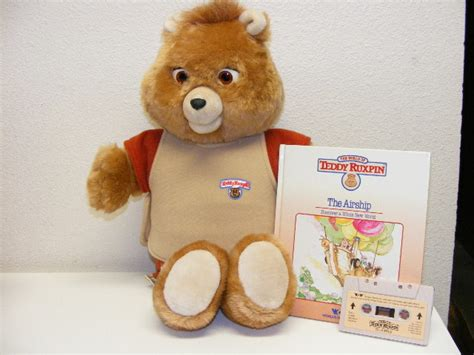 What's Your Favourite Teddy Ruxpin Design?