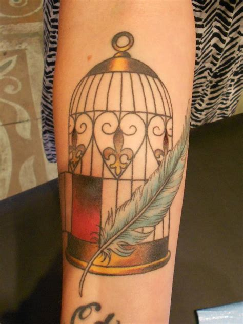 Bird Cage Tattoos Designs, Ideas And Meaning  Tattoos For You
