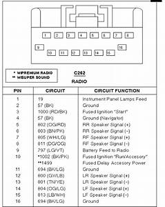 Wiring Diagram 2002 Ford Escape Speaker Wire Radio In