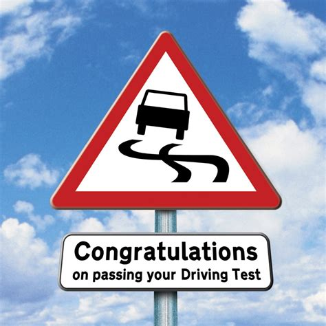 congratulations  passing  driving test