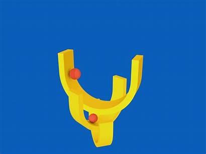 Kinetic Sculpture Dribbble Loop