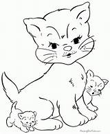 Coloring Studying Genius Cats sketch template
