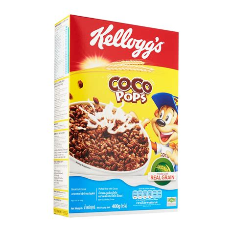 Cereal Choco kellogg s coco pops cereal 400g from redmart