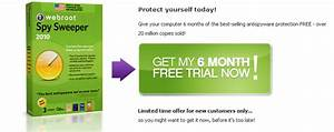 Download Free 6 Months Trial of Webroot Spy Sweeper 2010 ...