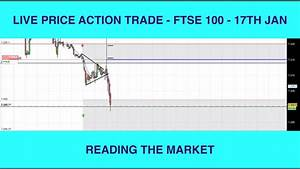 Live Price Action Trade FTSE 100 - Reading The Market ...