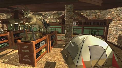 bass pro shops  hunt  action game trailer youtube