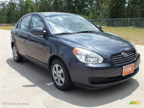 Hyundai Accent 2008 by 2008 Charcoal Gray Hyundai Accent Gls Sedan 64925180