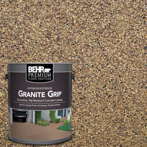 behr premium 1 gal gg 13 pebble sunstone decorative