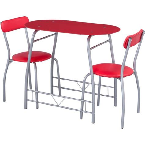 miami glass dining table and 2 chairs breakfast set