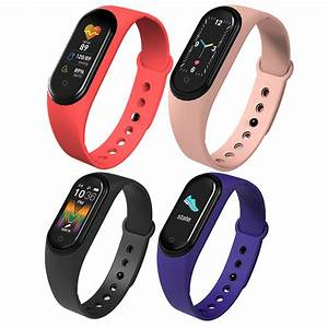 Blood Pressure Heart Rate Smart Watch Monitor Band M5
