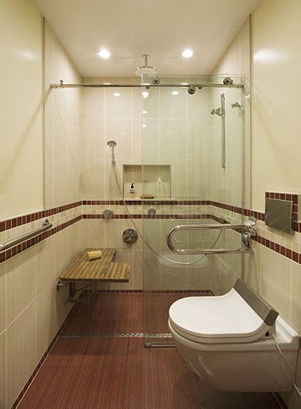 award winning wheelchair accessible bathroom  morse