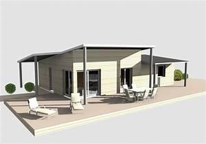 maison bardage acier comment ju0027ai isol ma maison par With photo maison toit plat 1 maison toit plat et casquette nimes gard 30
