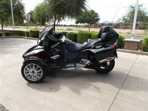 can am trike 2013 can am spyder rt limited se5 trike for sale on 2040 motos