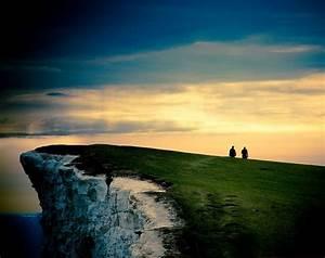 Wonderful Chalk Cliff View