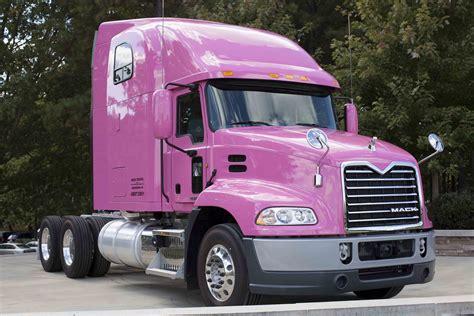 mack trucks showcases  support  breast cancer awareness