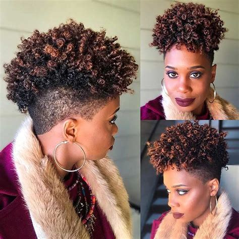 short natural hairstyles  black women page