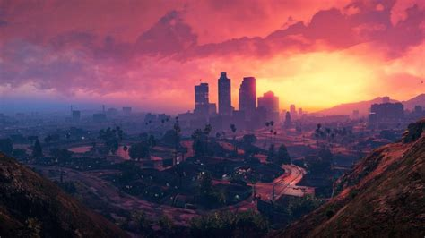 players discover  gta   realistic light pollution