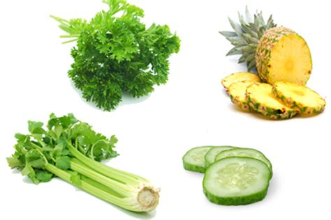 Vochtafdrijvende groenten