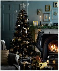 Red And Black Living Room Decorations by Tesco Magazine Lifestyle Sophisticated Christmas Looks