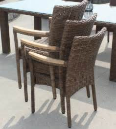 Wicker Dining Chairs Outdoor by Outdoor Wicker Dining Chair Santa Barbara