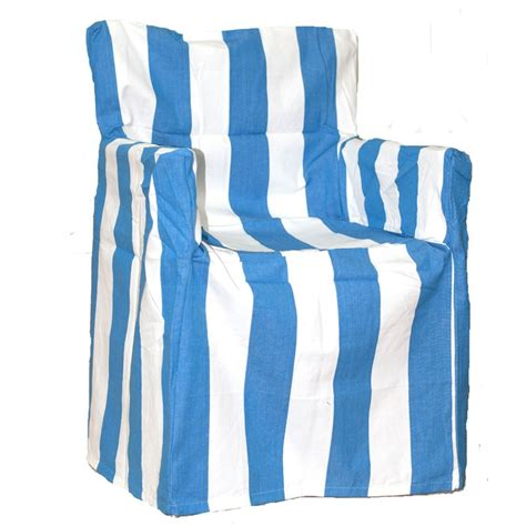 malibu blue and white director chair cover quality