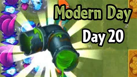 plants vs zombies 2 modern day day 20 highway to the danger room