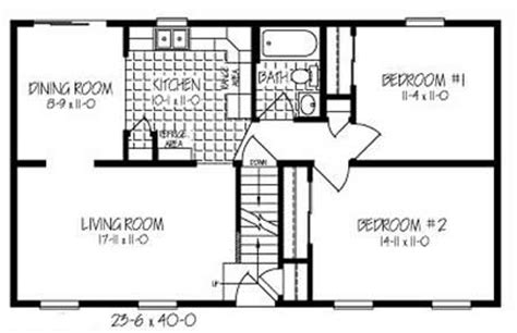 C096021 2 by Hallmark Homes Cape Cod Floorplan