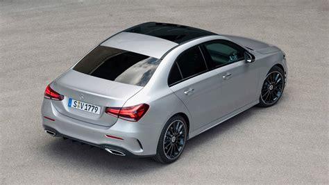 O habitáculo apresenta uma solidez de montagem assinalável e a qualidade dos materiais é de um modo geral elevada. 2019 Mercedes-Benz A-Class Sedan Pricing Starts at 30,900 EUR - autoevolution