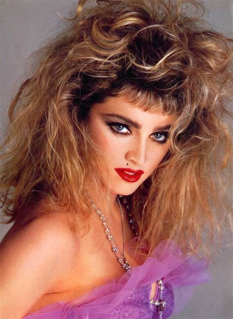 Madonna 80s Hairstyles by The 80 S Big Hair Thread