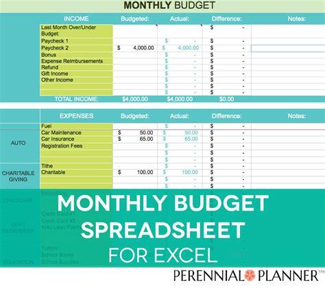 free finance spreadsheet monthly budget spreadsheet household money tracker