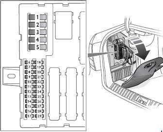 Saab 9 3 Fuse Box Diagram by Saab 9 3 2003 2012 Fuse Box Diagram Auto Genius
