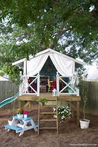 Fort A Day: A Gorgeous Treehouse and Play Tent Combination