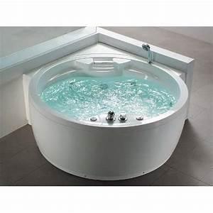 Baignoire D Angle Pas Cher : bain remous rond florence baignoire d 39 angle avec 14 ~ Dailycaller-alerts.com Idées de Décoration