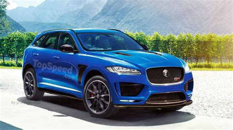 2019 Jaguar F Pace Svr Front Image  New Car News