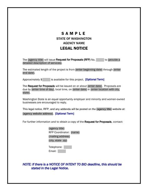 Eviction Notice Template Document Templates Company Documents