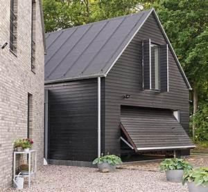 Fassade Streichen Preis : nebengeb ude mit schwarzer fassade bild 6 sch ner wohnen ~ Articles-book.com Haus und Dekorationen