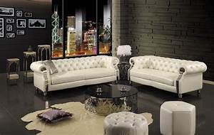 2015, new, chesterfield, sofa, modern, living, room, sofa, , sf301, 2, 3, seater, real, genuine, leather, sofa