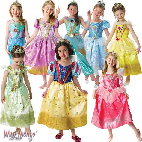 disney princess dressers disney glitter princess dress costume tiara fancy