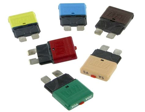Automotive Marine Circuit Breaker Blade Fuses Auto Manual