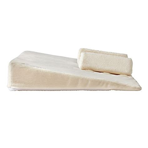 baby wedge pillow hiccapop baby crib wedge with anti roll pillow bumpers